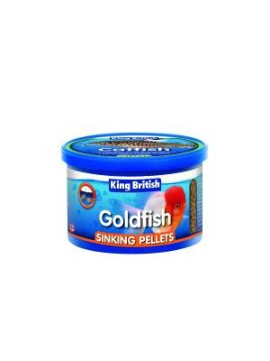 King British Goldfish Sinking Pellets