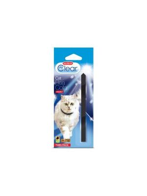 Bob Martin Clear Cat Flea Collar Velvet Twinpack