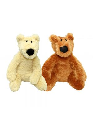 Good Boy Fluffy Bears Dog Toy