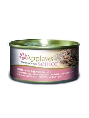 Applaws Cat Senior Tuna & Salmon (Pack of 24 x 70g)