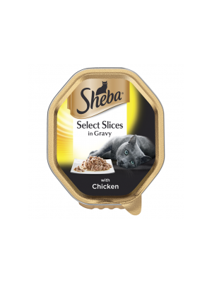 Sheba Select Slices in Gravy with Chicken