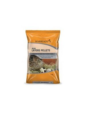 Marriages Specialist Foods Quail Layers Pellets