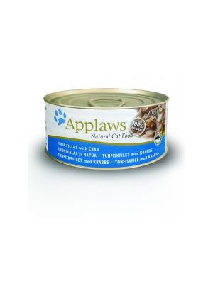 Applaws Cat Tin Tuna & Crab (Pack of 24 x 70g)