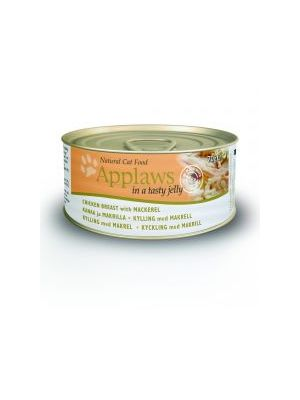 Applaws Cat Tin Chicken & Mackeral (Pack of 24 x 70g)