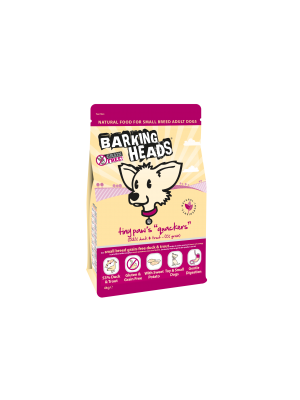 Barking Heads Tiny Paws Quackers Grain Free