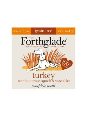 Forthglade Complete Meal Senior Turkey with Butternut & Vegetables Grain Free