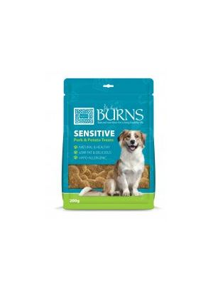 Burns Treat Sensitive Pork