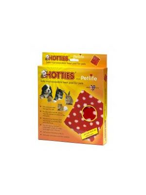 Hotties Heat Pad Red Polka