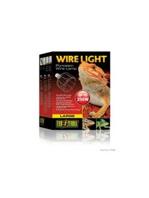 Exo Terra Wire Light Large 250w