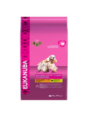 Eukanuba Adult Weight Control 1-7 Years Medium Breed