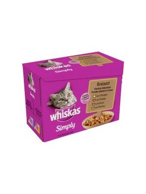 Whiskas Simply Poultry 12 Pack