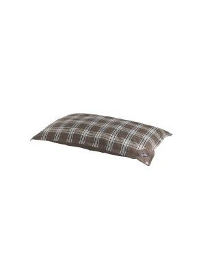 Do Not Disturb Tartan Brown Duvet