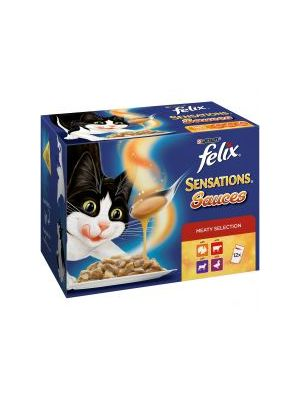Felix Sensations Sauces Meat Selection 12 Pack