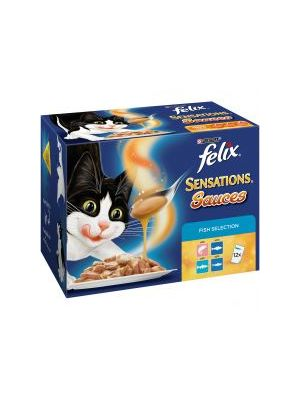 Felix Sensations Sauce Fish Selection 12 Pack