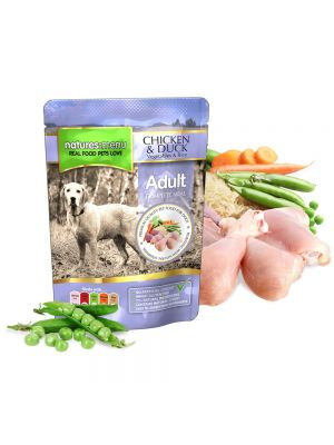 Natures Menu Chicken & Duck Dog Pouches