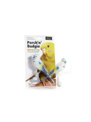 Ruff 'N' Tumble Perch 'N' Budgie 16cm