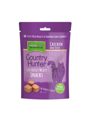 Country Hunter Freeze Dried Chicken and Duck Cat Snacks