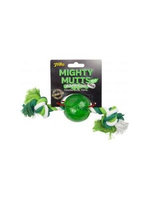 Mighty Mutts Mint Bal & Rope