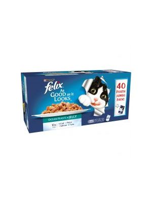 Felix Pouch As good as it looks Fish 40pk