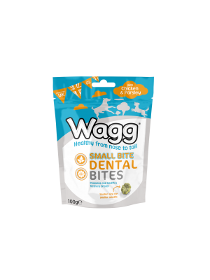 Wagg Small Bite Dental Bites Chicken & Parsley