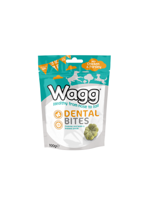 Wagg Dog Dental Bites Chicken & Parsley