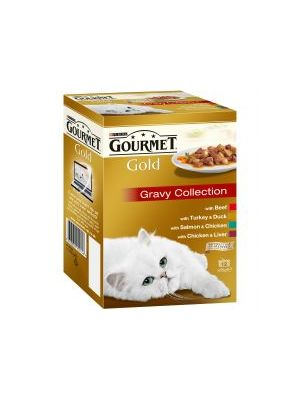 Gourmet Gold Multi variety Gravy Collection 12pk
