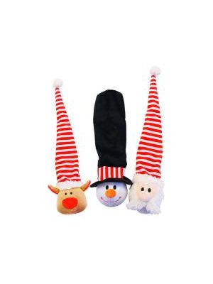Happy Pet Long Hat Snowman Dog Toy