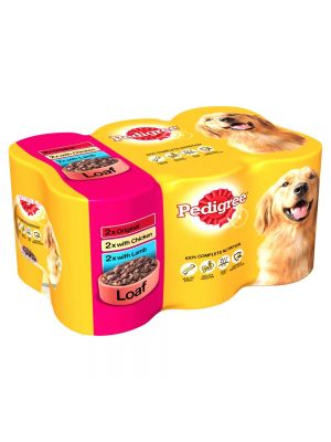 Pedigree Can in Loaf 6 Pack