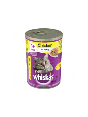 Whiskas Chicken Chunks in Jelly PM 80p