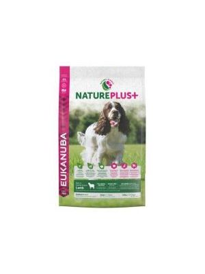 Eukanuba Nature Plus+ Adult Medium Breed Rich in freshly frozen Lamb 10kg