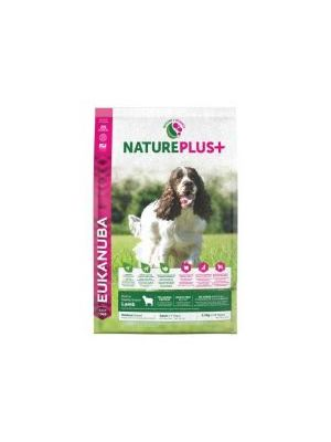 Eukanuba Nature Plus+ Adult Medium Breed Rich in freshly frozen Lamb 2.3kg