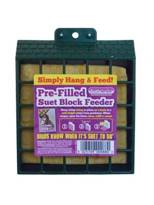 Suet To Go Block & Feeder