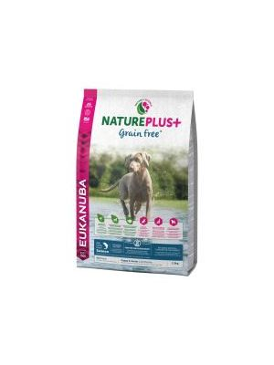 EUKANUBA NaturePlus+ Grain Free Puppy & Junior With Freshly Frozen Salmon