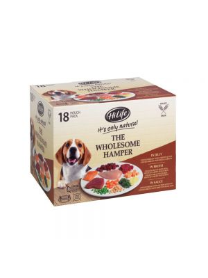 HiLife It's only natural - The Wholesome Hamper 18x100g Multipack