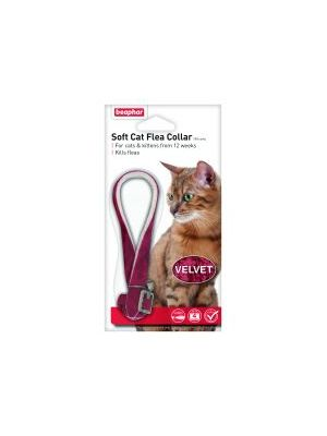 Beaphar Cat Flea Collar Velour