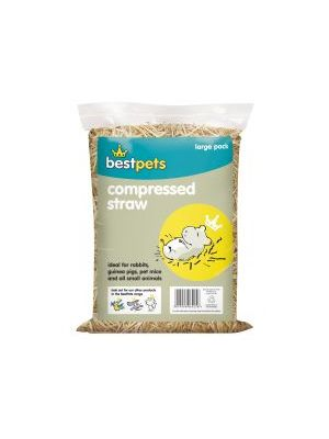 Bestpets Compressed Straw