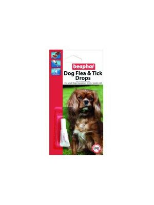 Beaphar Small Dog Flea Drops 4 Week