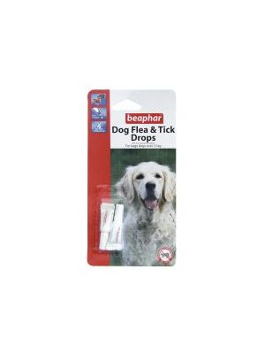 Beaphar Large Dog Flea Drops 4 Week