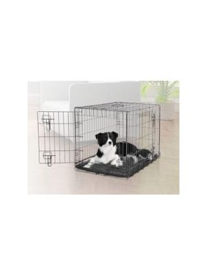 Dogit Wire 2 Door Black Dog Crate - 90581