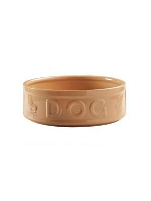 Mason Cash Cane 25cm Lettered Dog Bowl