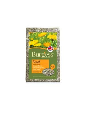 Burgess Excel Feeding Hay with Dandelion & Marigold