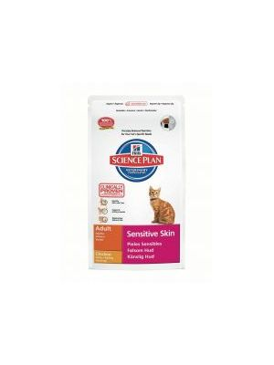 Hills Science Plan Feline Adult Sensitive Skin with Chicken