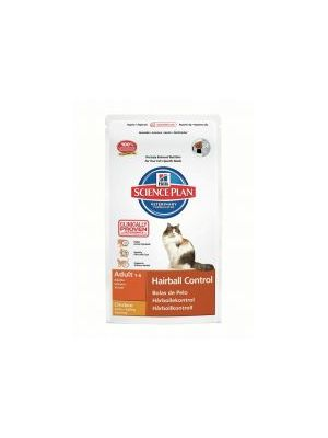 Hills Science Plan Feline Adult Hairball Control with Chicken