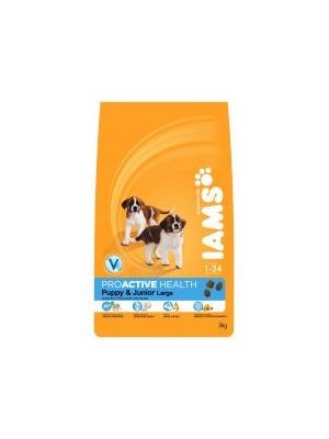 Iams Puppy/Junior Large Chicken