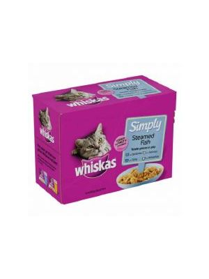 Whiskas Simply Fish 12 Pack