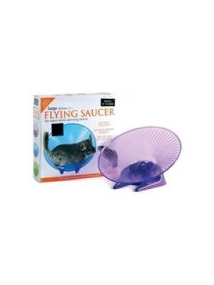 Small 'N' Furry Flying Saucer Wheel Large