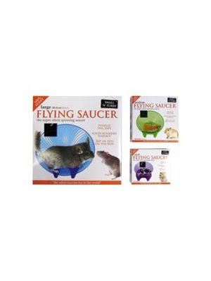 Small 'N' Furry Flying Saucer Wheel Small
