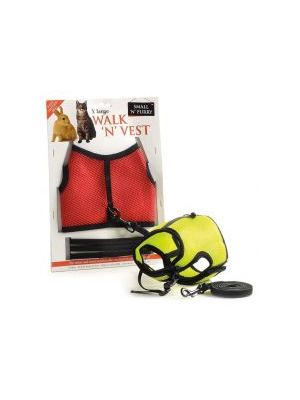 Small 'N' Furry Walk 'N' Vest 'N' Leash