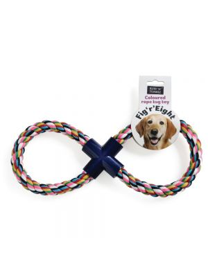 Ruff 'N' Tumble Fig 'R' Eight Rope Dog Toy