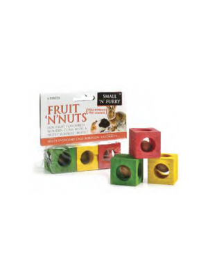 Small 'N' Furry Fruit 'N' Nut Chew